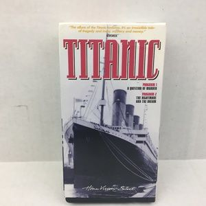 Titanic VHS 2 tape Home Vision Select 1986…